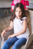 Portrait of Little cute girl Royalty Free Stock Photos
