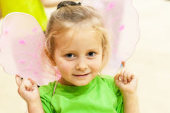 Portrait of little dancer Stock Photo