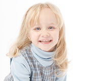Portrait of a little girl Royalty Free Stock Images