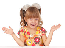 Portrait little girl Royalty Free Stock Image