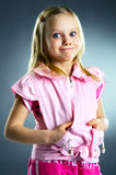 The portrait of a little girl. Royalty Free Stock Images