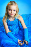The portrait of a little girl. The portrait of a beautiful little girl stock photography