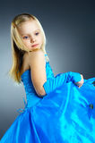 The portrait of a little girl. Stock Photos