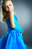 The portrait of a little girl. Royalty Free Stock Image