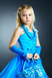 The portrait of a little girl. Royalty Free Stock Photography