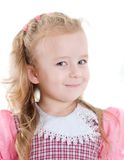 Portrait little girl Royalty Free Stock Images