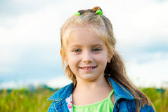 Portrait of little girl Royalty Free Stock Photo