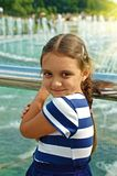 Portrait of the little girl Royalty Free Stock Image