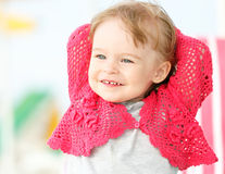 Portrait of little girl Stock Photos