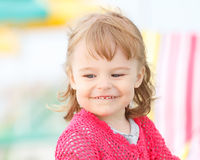 Portrait of little girl Stock Photos