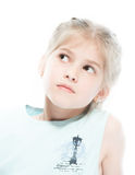 Portrait of a little girl Royalty Free Stock Image
