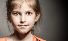 Portrait of a little girl Stock Photography