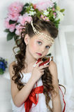 Portrait of little girl Royalty Free Stock Photos