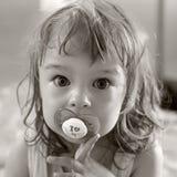 Portrait of little girl Stock Photography