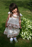 Portrait of a little girl Royalty Free Stock Photos