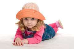 Portrait of little girl. Stock Photography