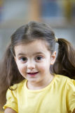Portrait of a Little Girl.  stock images