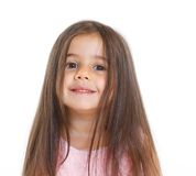 Portrait little girl Royalty Free Stock Photo