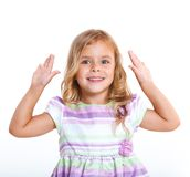 Portrait little girl Royalty Free Stock Photography
