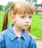 Portrait of a little girl. Portrait of a cute little girl Stock Photo