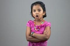 Portrait of little girl Stock Photo