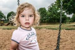 Portrait of a little girl. Outdoor Stock Photos