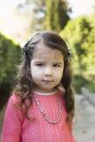 Portrait of little girl. Outdoor fashion portrait of little girl Stock Image