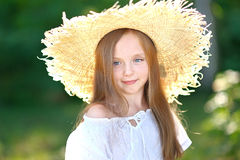 Portrait of little girl Royalty Free Stock Images
