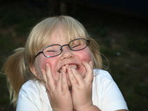 Girl Laughing Stock Photo