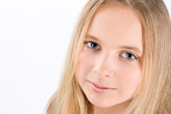 Portrait of little girl Stock Images