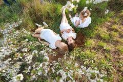 Portrait of little girls sisters Stock Photo