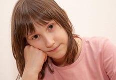 Portrait of little girls Stock Images