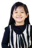 Portrait of little happy asian cute Girl Stock Image