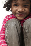 Portrait of little Indian girl Royalty Free Stock Photos