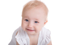 Portrait of little playing smiling child Royalty Free Stock Photo