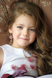 Portrait of little pretty girl. Stock Images