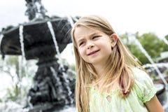 Portrait of little pretty girl. A Portrait of little pretty girl outside Stock Images