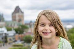 Portrait of little pretty girl. A Portrait of little pretty girl outside Stock Image