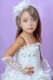 Portrait of little princess Stock Photo