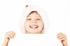 Portrait of little santa Royalty Free Stock Photo