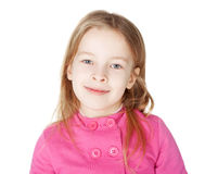 Portrait of little smiling girl Stock Photo