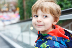 Portrait of little toddler boy two or three years old Royalty Free Stock Photography