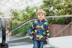 Portrait of little toddler boy two or three years old Stock Image
