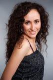 Portrait of lively brunette Stock Photography