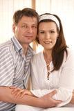 Portrait of love couple Stock Photos
