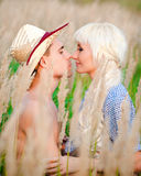Portrait of love couple Royalty Free Stock Photos