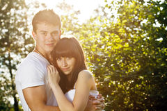 Portrait of love couple Stock Photography