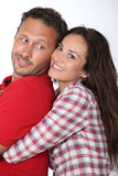 Portrait of in loved couple Stock Image