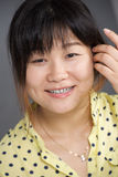 Portrait of lovely Asian girl Royalty Free Stock Images