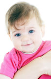 Portrait of lovely baby Royalty Free Stock Images